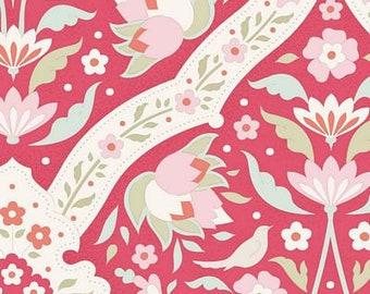 Bon Voyage Hare Tile Red TIL100255-V11...a Tilda Collection designed by Tone Finnanger