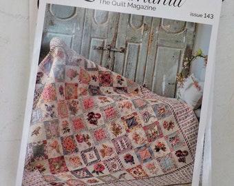 Quiltmania, the Quilt Magazine, Issue 143