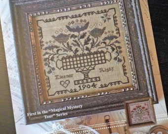"""Eleanor Rigby and Sweet Baby, """"Magical Mystery Tour"""" Series #1, by Blackbird Designs...cross-stitch design"""