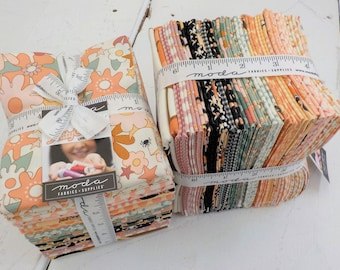Kitty Corn fat quarter bundle by Urban Chiks for Moda Fabrics, 25 fat quarters and panel