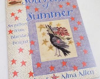 Souvenirs of Summer by Blackbird Designs...cross-stitch designs