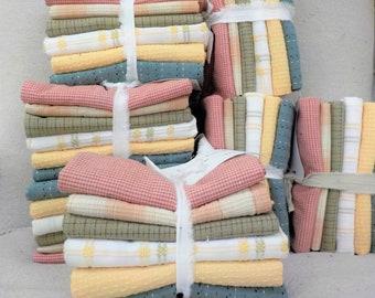 Heirloom Pumpkins, Fat Quarter bundle, exclusive grouping of Diamond Textile Wovens, 6 fat quarters, pastel autumn, pastel bundle