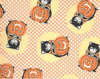 Kitty Corn Pumpkin 31171 13 by Urban Chiks for Moda Fabrics, halloween, autumn