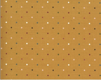 Folktale Magic Dot Golden 5124 16 by Lella Boutique for Moda Fabrics