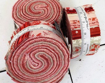 Roselyn by Minick and Simpson for Moda Fabrics...jelly roll...2 1/2 inch strips