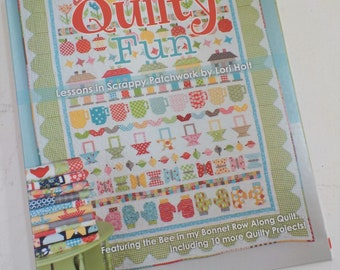 Quilty Fun, Lessons in Scrappy Patchwork by Lori Holt of Bee in My Bonnet, quilt book, it's sew emma