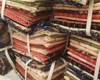 Elinores Endeavor fat quarter bundle by Betsy Chutchian for Moda Fabrics...curated bundle, 13 fat quarters