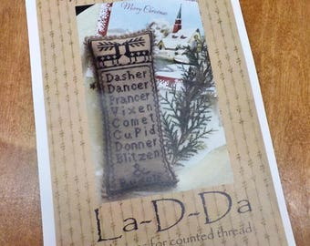And Rudolf by La-D-Da...cross stitch pattern