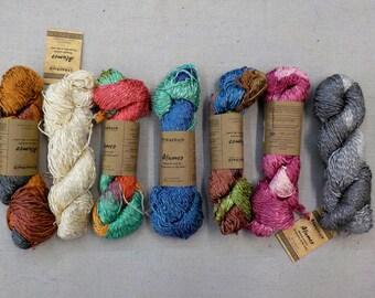 Araucania Yarns...Alumco...Hand-painted Cotton Viscose Blend...7 colors