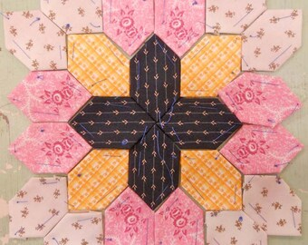 Lucy Boston Patchwork of the Crosses civil war block kit #17