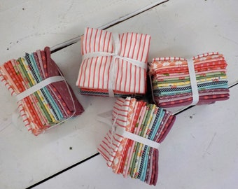 Lella's Garden...18 fat quarter bundle...fabric designed by Lella Boutique for Moda Fabrics...exclusive bundle, curated bundle