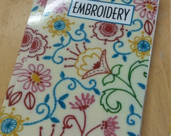Pocket Guide Embroidery Stitches from Leisure Arts