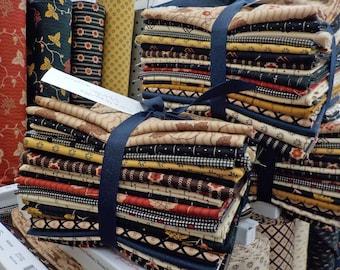 Shelbyville 18 fat quarter bundle...exclusive grouping...designed by Jo Morton for Moda Fabrics