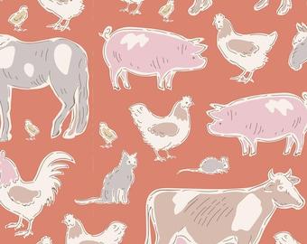 Tiny Farm Farm Animals Ginger TIL110014-V11...a Tilda Collection designed by Tone Finnanger