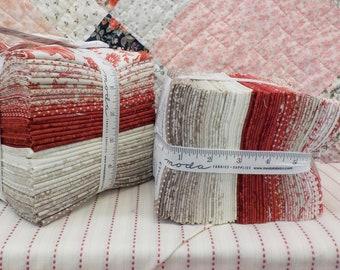 Cranberries & Cream fat quarter bundle by 3 Sisters for Moda Fabrics...34--fat quarters