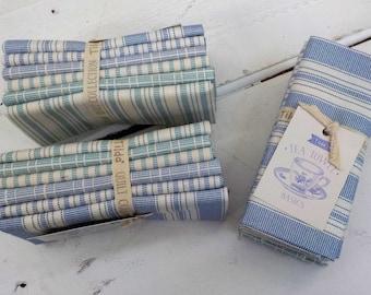 Tilda Tea Towel Basics...Blue and Teal...a Tilda Collection designed by Tone Finnanger