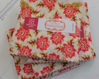 Sweet Beginnings charm pack by Jera Brandvig of Quilting in the Rain for Maywood Studios, 42--5 inch squares