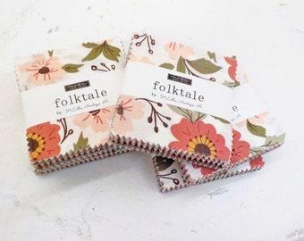 Folktale mini charm pack by Lella Boutique for Moda Fabrics