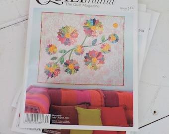 Quiltmania, the Quilt Magazine, Issue 144