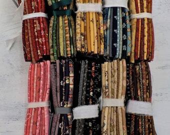 Civil War color bundles...fat 8ths...color packs