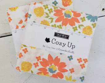 Cozy up charm pack Corey Yoder of Coriander Quilts for Moda Fabrics, 5 inch squares, Moda Precut