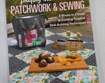 Playing with Patchwork and Sewing by Nicole Calver