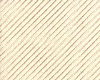Farmhouse Reds Ivory Red 14853 13 by Minick & Simpson for moda fabrics