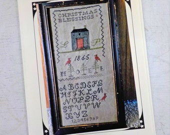 Christmas Blessing Abound by The Pinkeep...cross stitch pattern