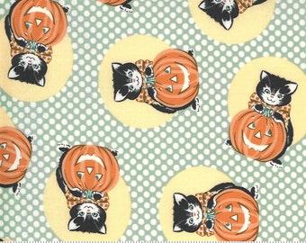 Kitty Corn Goblin 31171 15 by Urban Chiks for Moda Fabrics, halloween, autumn