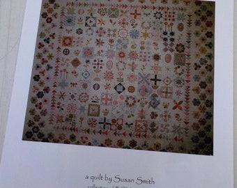 Stonefields Quilt pattern...pattern designed by Susan Smith...10 patterns...complete set