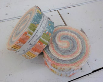 Cozy up Jelly Roll by Corey Yoder of Coriander Quilts for Moda Fabrics, 2 1/2 inch strips, Moda Precut