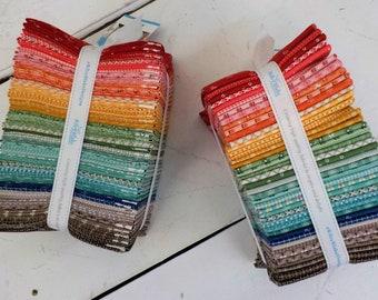 Prim fat quarter bundle by Lori Holt of Bee in My Bonnet for Riley Blake Designs...42 fat quarters...factory cut