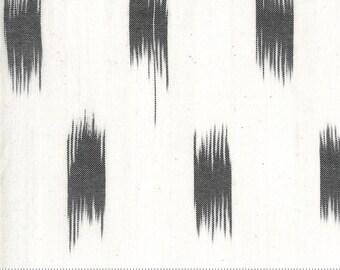 Low Volume Ikat Charcoal 18201 21 by Jen Kingwell for Moda Fabrics