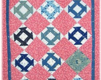 PDF Baby Anne miniature pattern by Mickey Zimmer for Sweetwater Cotton Shoppe