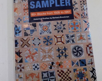 The Kansas City Star Quilts Sampler, 60+ blocks from 1928 to 1961, Historical Profiles by Barbara Brackman...sampler quilt