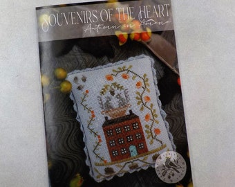 Autumn in Amana, a Souvenirs of the Heart, by Brenda Gervais of With Thy Needle & Thread...cross-stitch design, Americana
