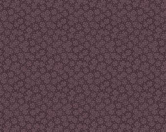 Purple Passion flower by Paula Barnes R2244-DKPURPLE for Marcus Fabrics