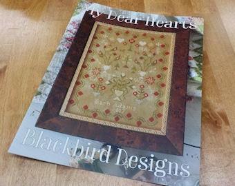 My Dear Hearts by Blackbird Designs...cross-stitch design