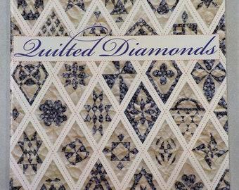 Quilted Diamonds, Jane Austen, Jane Stickle, & Friends, by Linda Franz of Inklingo