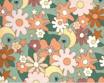 Kitty Corn Goblin 31172 15 by Urban Chiks for Moda Fabrics, halloween, autumn