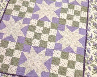PDF Garden Party quilt pattern...designed by Mickey Zimmer for Sweetwater Cotton Shoppe