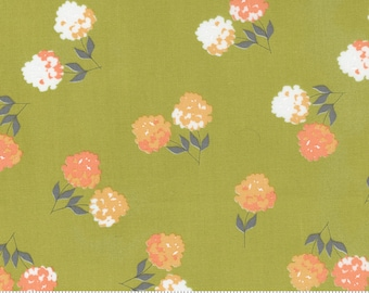 Cozy Up Moss 29121 15 by Corey Yoder of Coriander Quilts for Moda Fabrics
