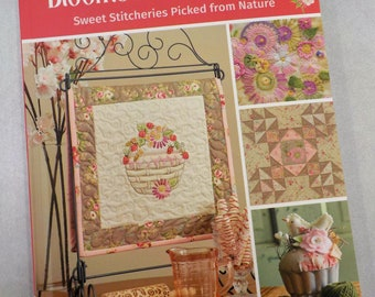 Blooms and Blossoms, sweet stitcheries picked from nature, by Meg Hawkey of Crabapple Hill Studio, embroidery