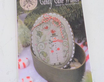 Candy Cane Wishes by Brenda Gervais of With Thy Needle & Thread...cross-stitch design
