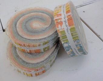 Cozy up Honey Bun by Corey Yoder of Coriander Quilts for Moda Fabrics, 1 1/2 inch strips, Moda Precut
