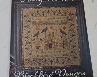 Away We Ride by Blackbird Designs...Halloween cross-stitch design