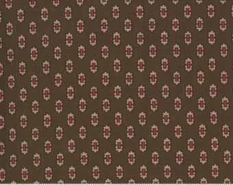 Ladies' Legacy Yankee Chocolate 8355 14 by Barbara Brackman for Moda Fabrics
