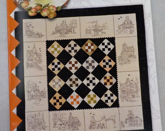 Hocuspocusville pattern by Meg Hawkey of Crabapple Hill Studio