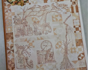 Calendula Patterdrip's Cottage pattern by Meg Hawkey of Crabapple Hill Studio