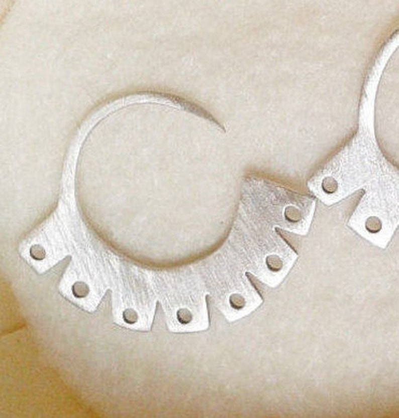 ethnic jewelry Mapuche jewelry handmade jewelry modern earrings hoop earrings sterling silver spring. CIRCULAR EARRING gift for her